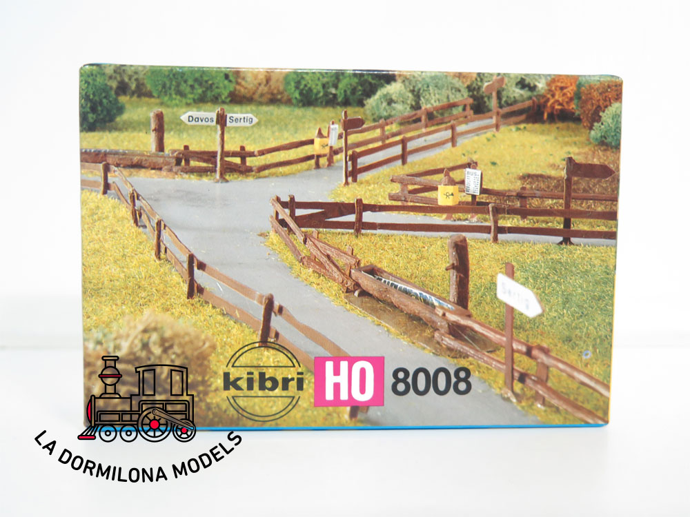 KIBRI 8008 H0 1:87 Zäune Weidezäune Cercas de pasturas vallas NUEVO