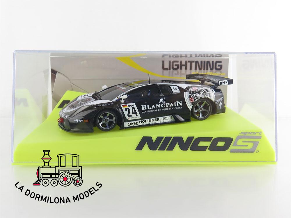 Ninco 50569 Lamborghini Murcielago Blancpain Lightning 1//32 #NEW