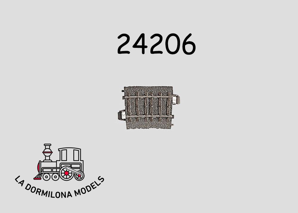 Märklin 24215 H0 C-Gleis Gebogenes Gleis R2 + NEU 15°