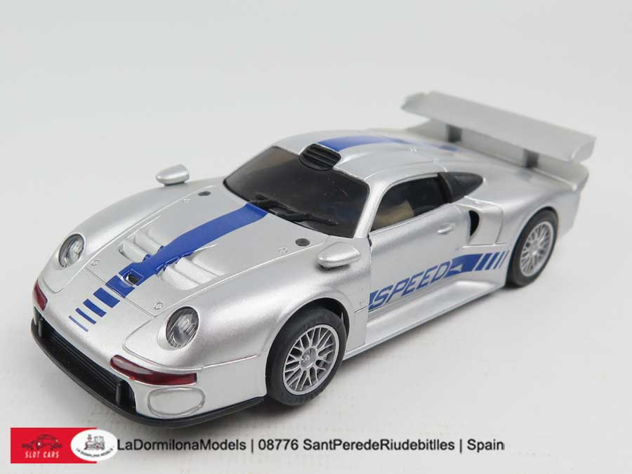 lmu1272 scalextric slot ninco 50148 porsche 911 gt1 road car ebay. Black Bedroom Furniture Sets. Home Design Ideas