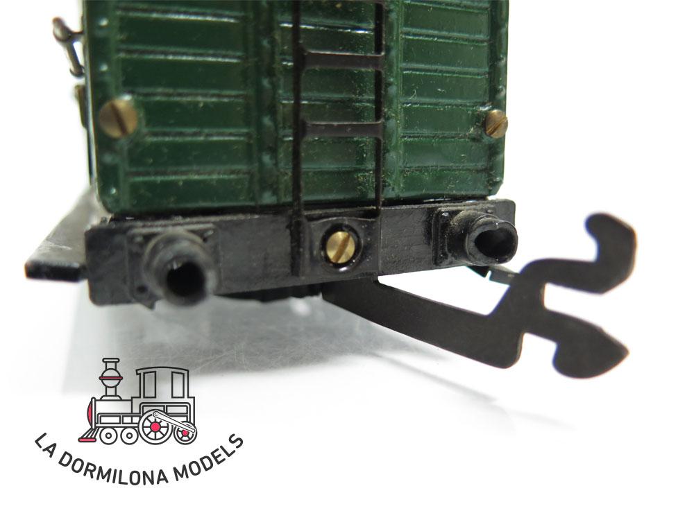 DN168 ESCALA 0 HERMANOS PAYA LOTE DE LOCOMOTORA Y VAGONES PARA REPARAR + RECAMBIOS - OVP