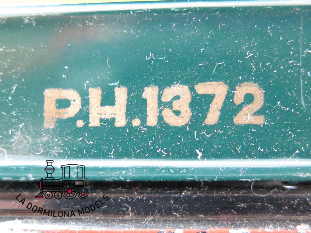 DN171 ESCALA 0 HERMANOS PAYA COCHE RRESTAURANTE de BOGGIES P.H.1372 - S/C