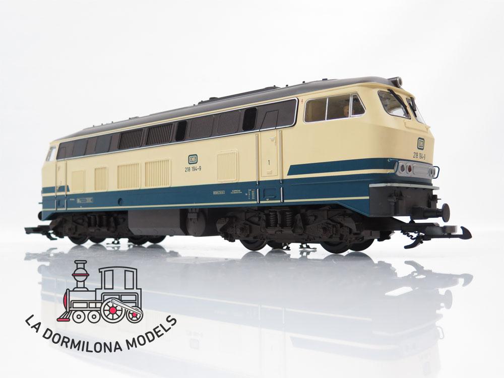 DV136 SPUR 1 PIKO 37501 Diesellokomotive BR 218 194-9 der DB -  S/C