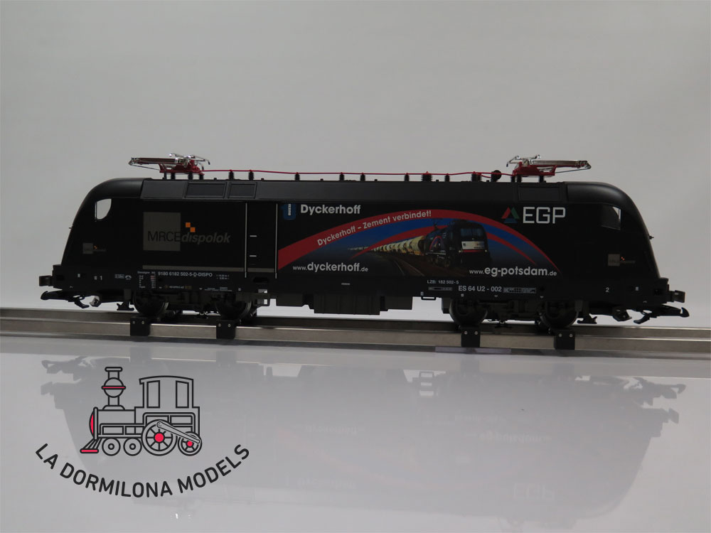 DV137 SPUR 1 PIKO 37422 EGP VI Taurus Electric Loco 182 502-5 MRCE Dispolok -  OVP