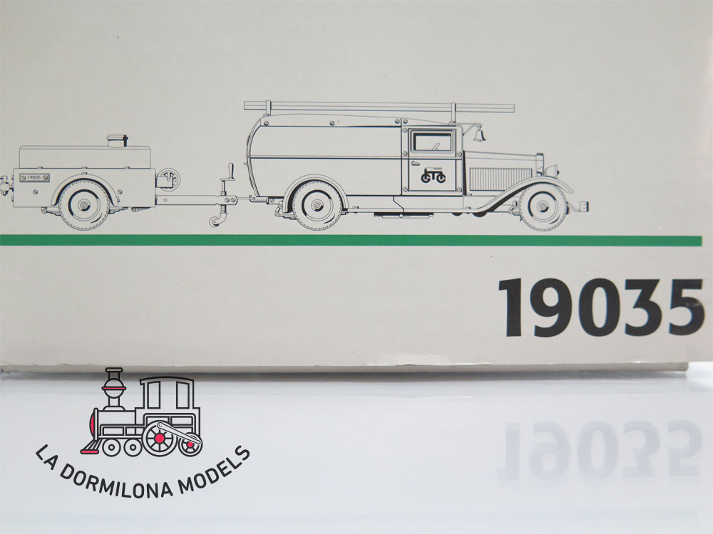 DV140 MÄRKLIN 19035 Modellauto Feuerwehrauto Insider Modell - NEW