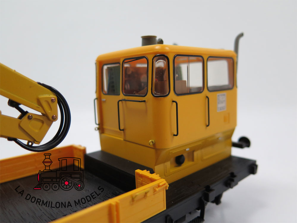DV143 SPUR 1 DCC Märklin 5739 Rottenkraftwagen-Garnitur Grua Klv 53 DB - NEW