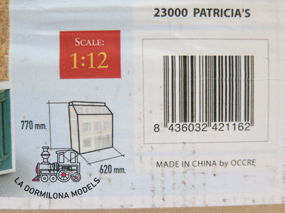 ED160C OCCRE 23000 PATRICIA, CASA TIENDA - ESCALA 1/12