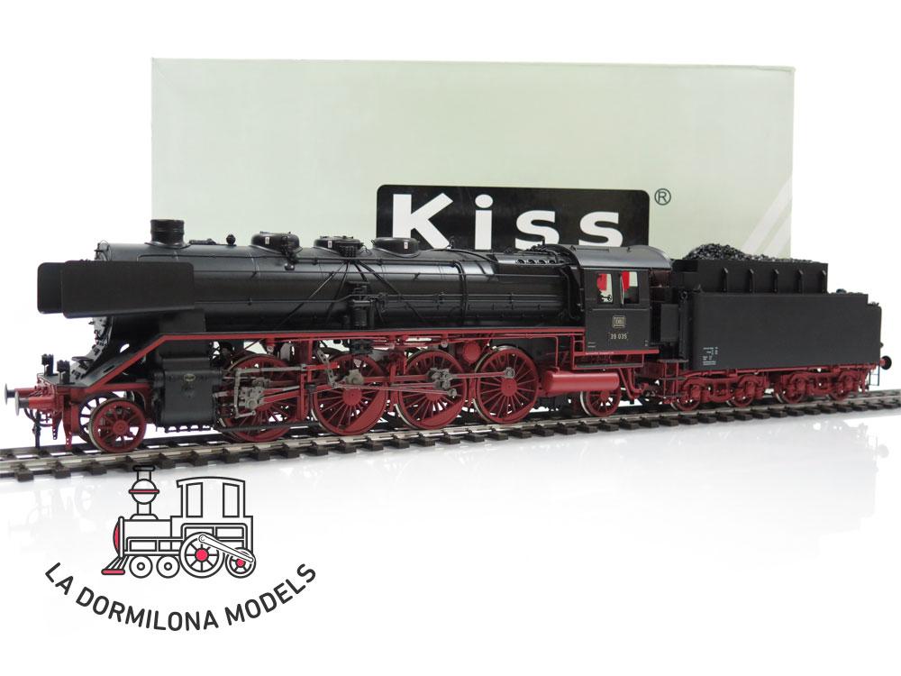 KS134 SPUR 1 KISS 230235 DAMPFLOKOMOTIVE BR 39 035 der DB Ep.IIIb - OVP