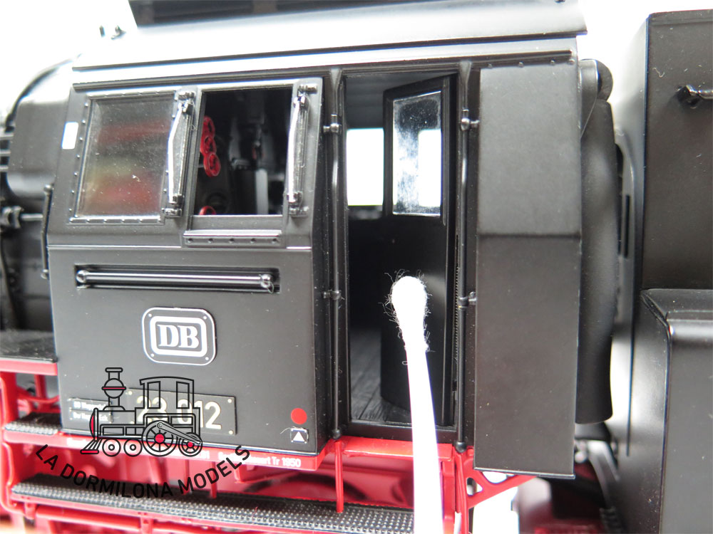 KS134 SPUR 1 KM-1 102303 DAMPFLOKOMOTIVE BR 23 012 der DB Ep.IIIb - OVP