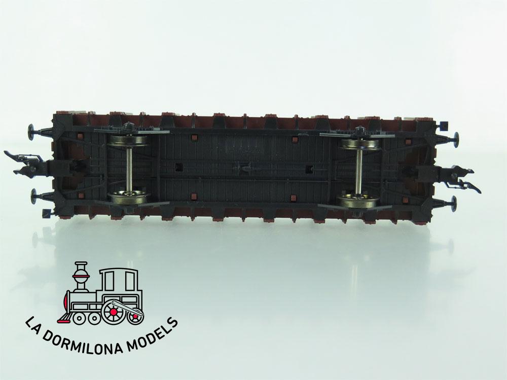 DN102 H0 =DC FLEISCHMANN RUNGENWAGEN Oldenburg 2216 Rm - OVP
