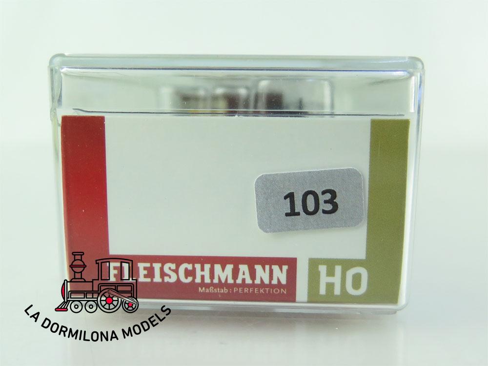 DN103 H0 =DC FLEISCHMANN RUNGENWAGEN Oldenburg 2216 Rm - OVP