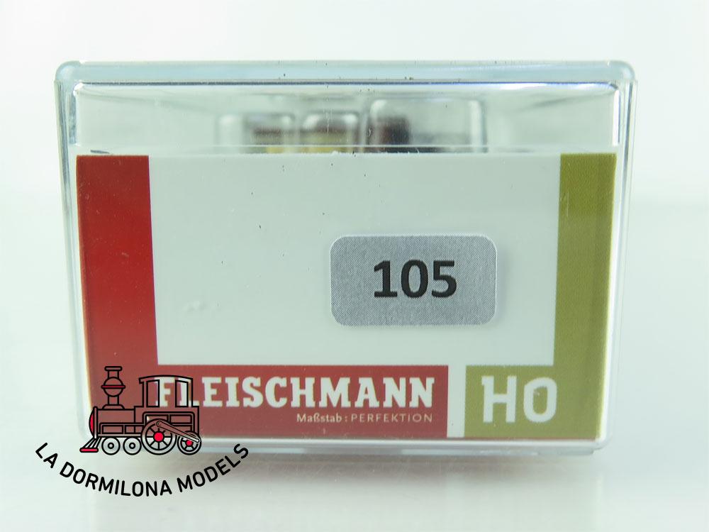DN105 H0 =DC FLEISCHMANN RUNGENWAGEN Oldenburg 2216 Rm - OVP