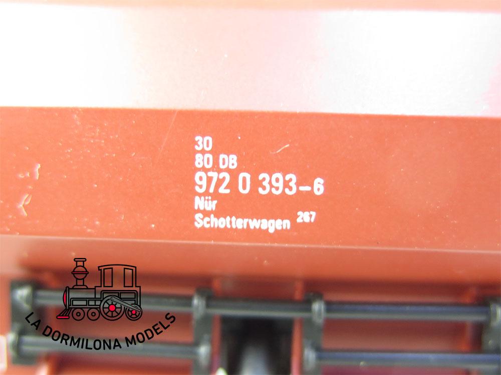 DN106 H0 =DC FLEISCHMANN 5525 Schüttgutwagen de la DB - OVP