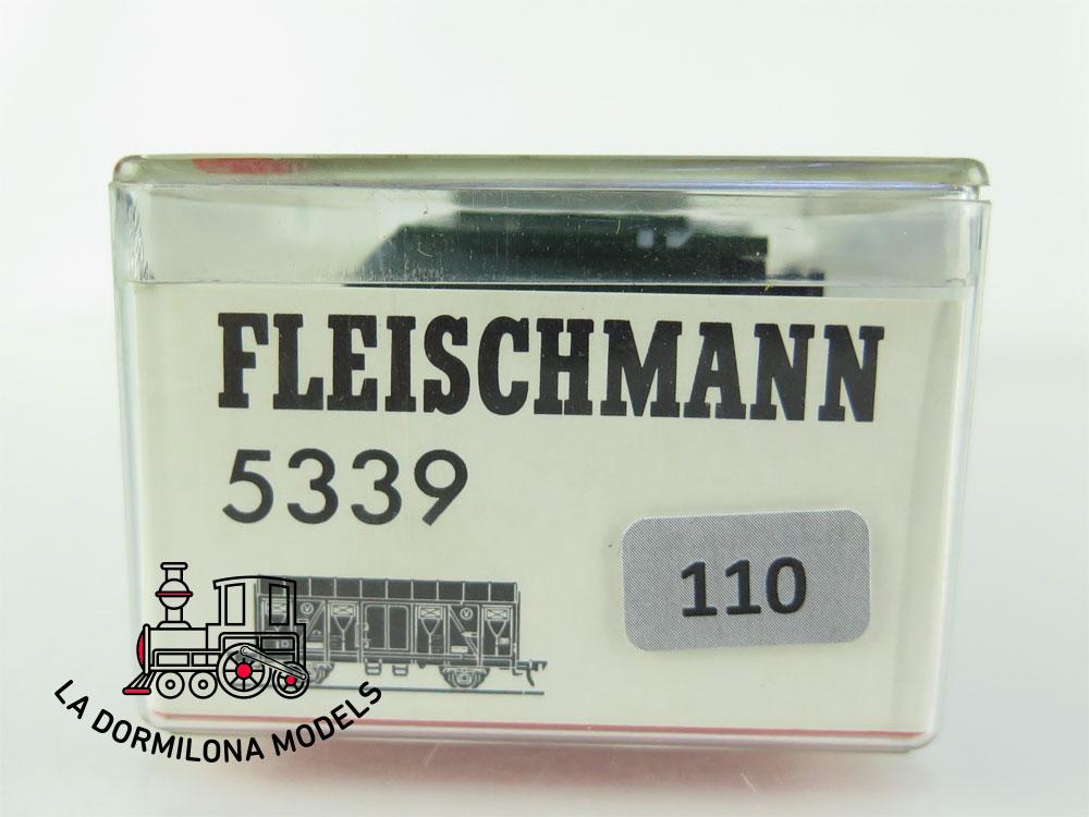 DN110 H0 =DC FLEISCHMANN 5339 VAGÓN CERRADO tipo Gmhs  - OVP