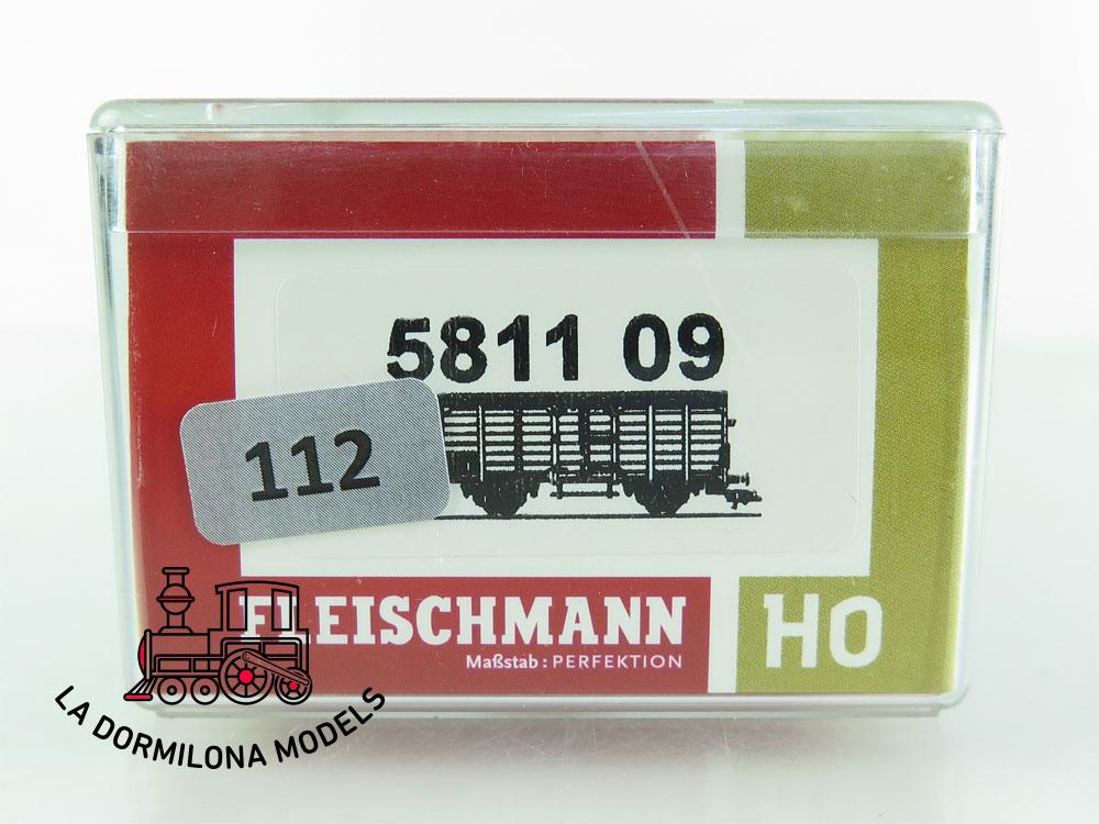DN112 H0 =DC FLEISCHMANN 5811 09 BIERWAGEN LÖWENHOF de la DB - OVP