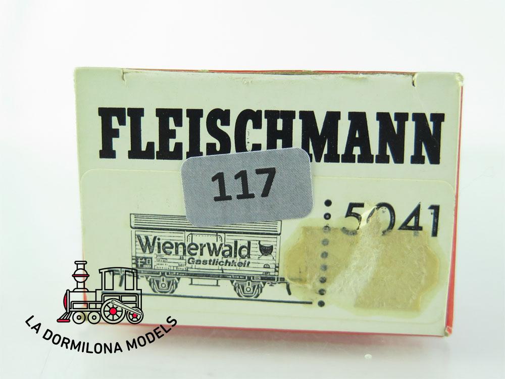 DN117 H0 =DC FLEISCHMANN 5041 KÜHLWAGEN WIENERWALD GASTLICHKEIT der DB - OVP