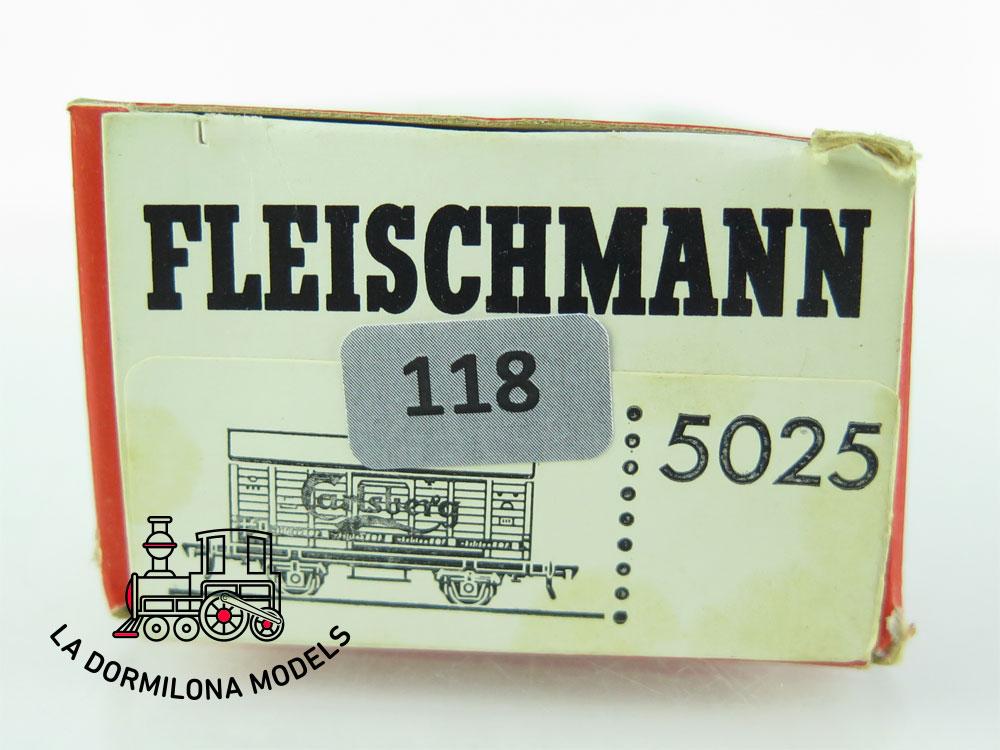 DN118 H0 =DC FLEISCHMANN 5025 BIERWAGEN CARLSBERG der DSB - OVP