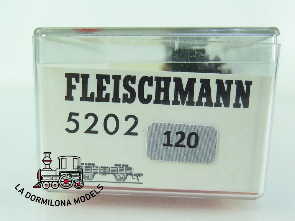 DN120 H0 =DC FLEISCHMANN 5202 VAGON ADICIONAL GRÚA - OVP