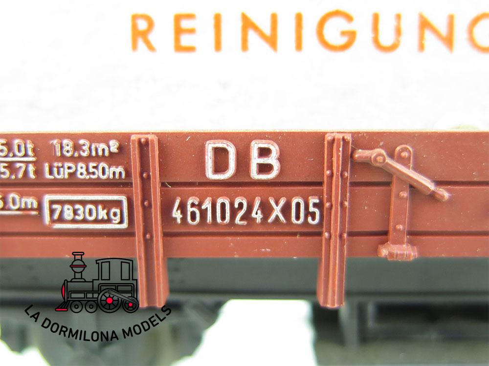 DN123 H0 =DC FLEISCHMANN 5569 VAGON LIMPIAVIAS  de la DB - OVP