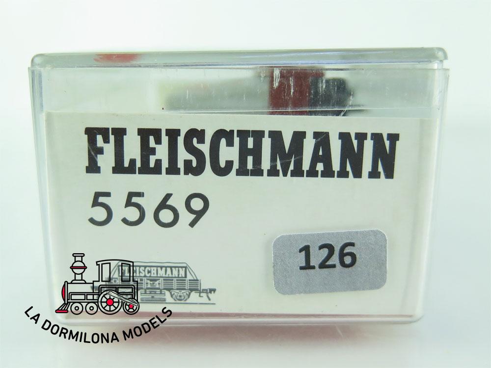 DN126 H0 =DC FLEISCHMANN 5569 VAGON LIMPIAVIAS  de la DB - OVP