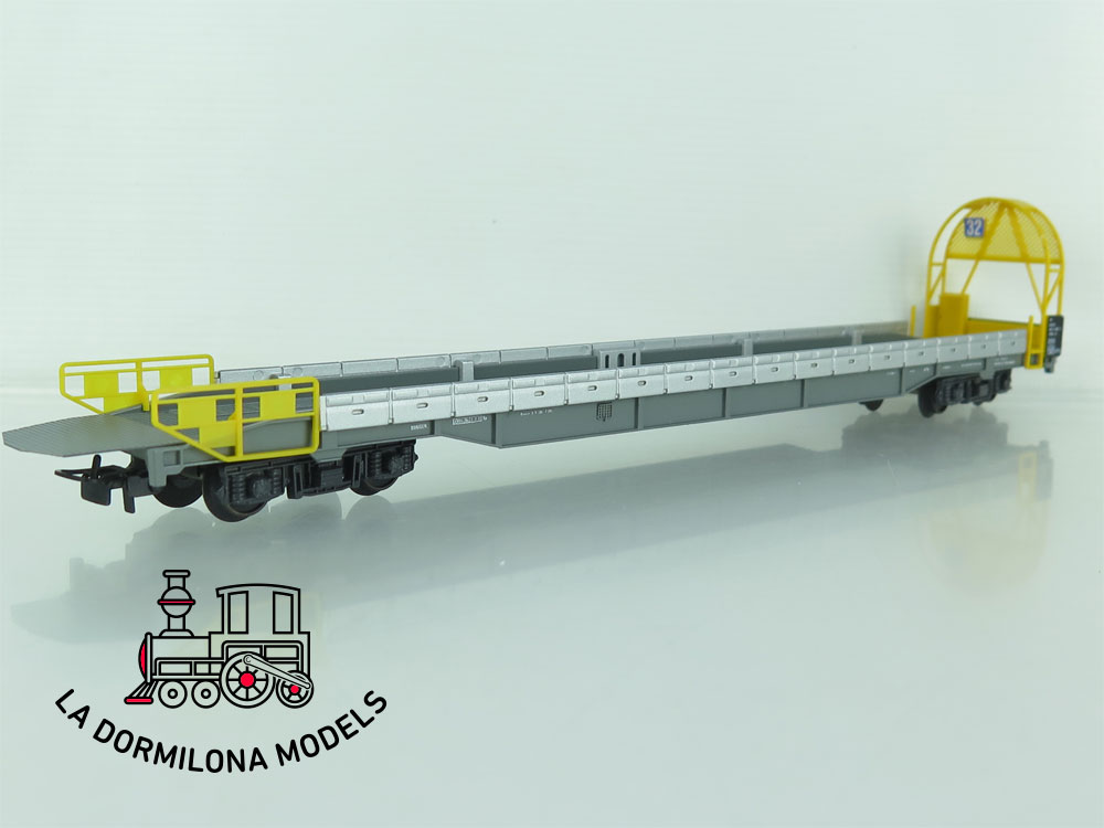 DN133 H0 =DC HAG Nr. 376 Auffahrwagen de la BLS - OVP