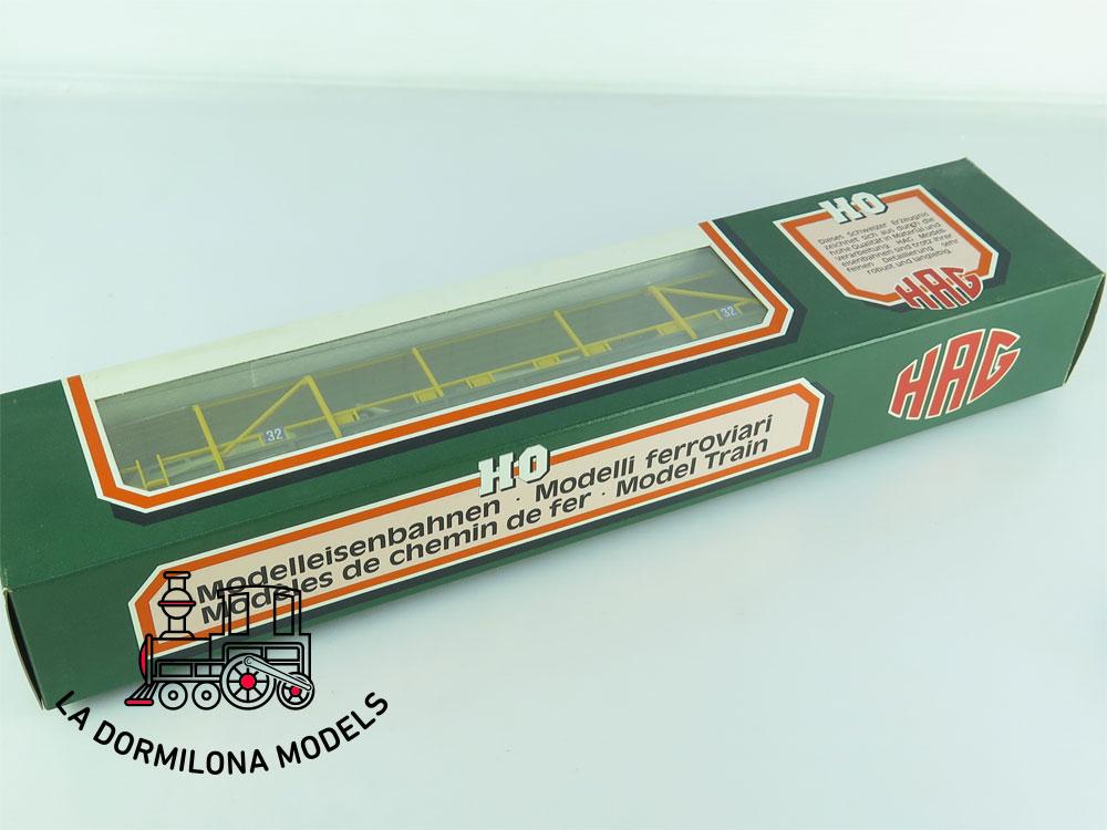 DN136 H0 =DC HAG Nr. 371 Autoverladewagen de la BLS - OVP
