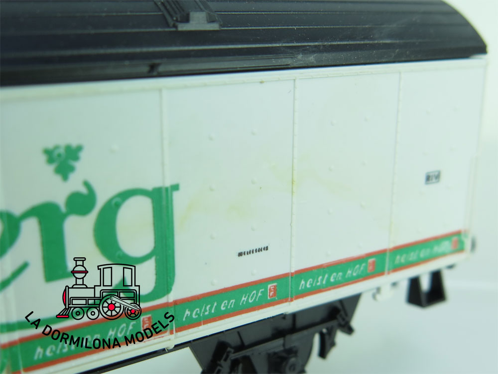 DN141 H0 =DC LIMA 303552 BIERWAGEN CARLSBERG der DSB - OVP