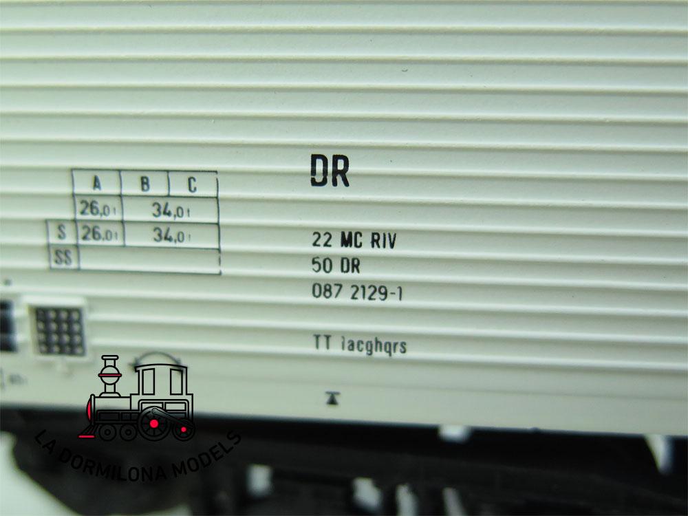 DN143 H0 =DC SACHSEN MODELLE 16049 KÜHLWAGEN RADEBERGER BIER der DR - OVP