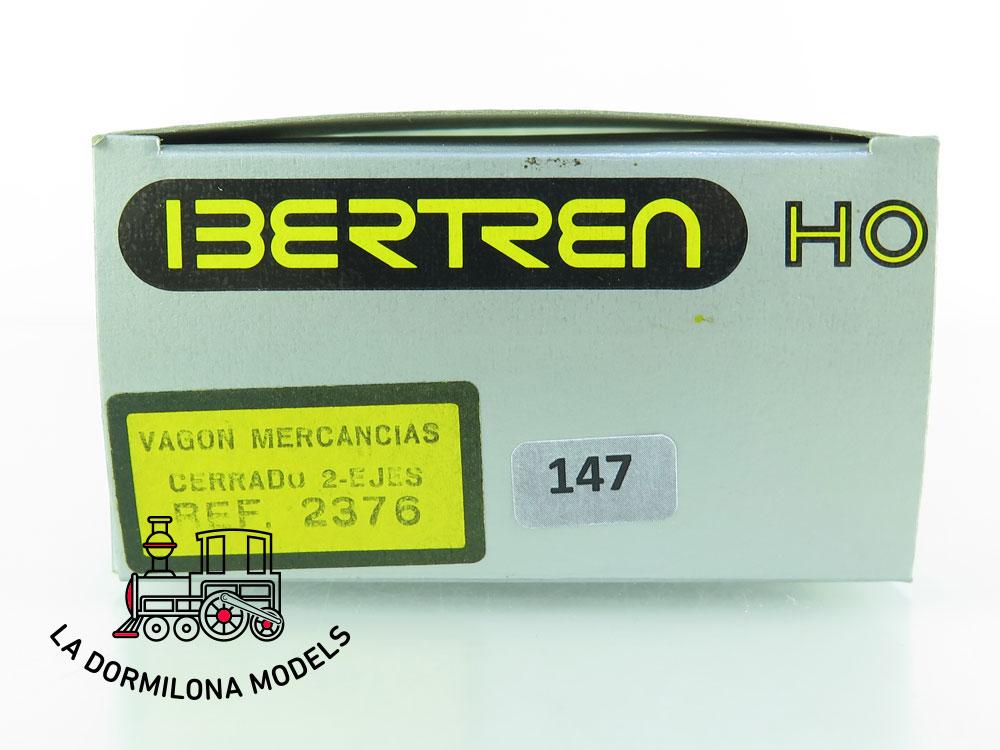 DN147 H0 =DC IBERTREN 2376 VAGON CERRADO VOLL DAMM RENFE - OVP
