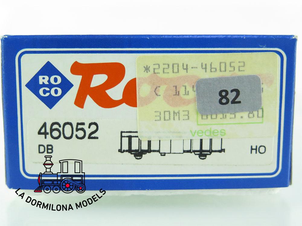 DN82 H0 =DC ROCO 46052 BIERWAGEN LÖWENGRÄU der DB - OVP