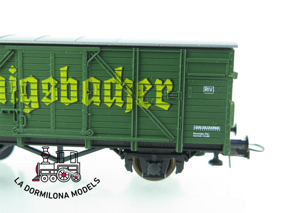 DN83 H0 =DC ROCO 46003 Bierwagen Königsbacher G 10 - OVP
