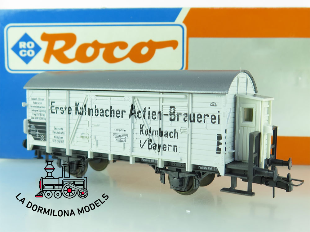 DN85 H0 =DC ROCO 46015 BIERWAGEN ERSTE KULMBACHER  - OVP