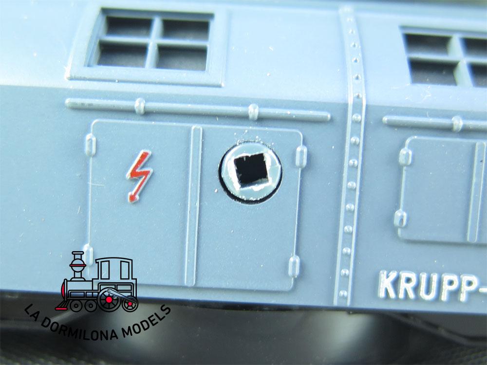 DN94 H0 =DC FLEISCHMANN 5595 KRANWAGEN 6700 der DB - OVP