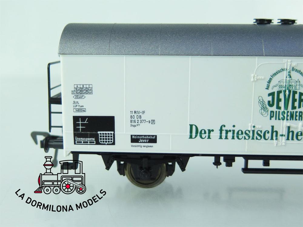 DN99 H0 =DC FLEISCHMANN 5325 BIERWAGEN DER JEVER PILSENER der DB - OVP