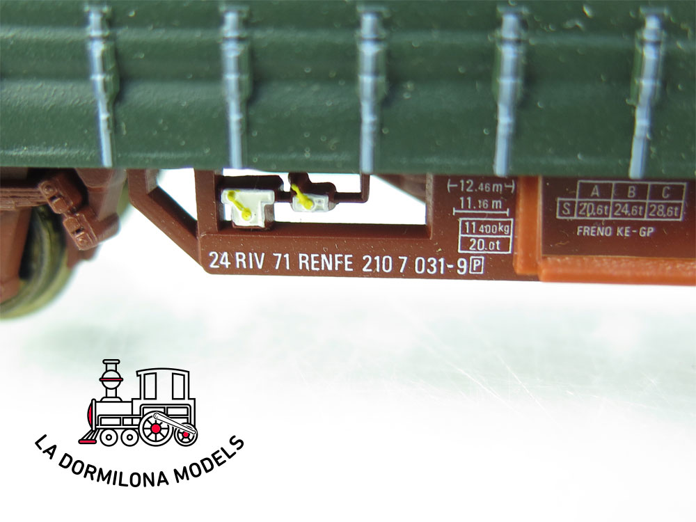 DG172 H0 =DC ELECTROTREN 1412K VAGÓN CERVECERO SAN MIGUEL RENFE - OVP