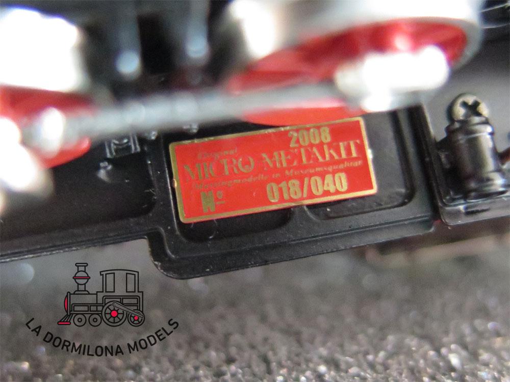 S10 H0 BRASS MICRO-METAKIT 05104H. Pfälzisches Class G4.III HAGENBACH K.Bay.Sts.B - OVP