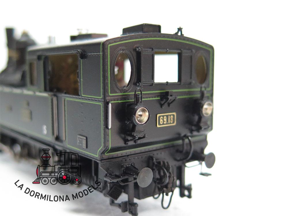 S12 H0 BRASS MICRO-METAKIT 08702H. Zahnardlokomotive Reihe 69.18 der BBÖ - OVP