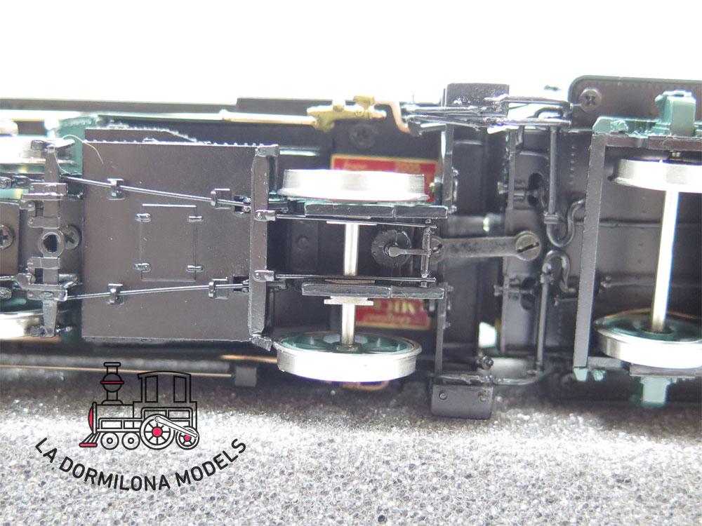 S13 H0 BRASS MICRO-METAKIT 03100H. SCHNELLZUGDAMPFLOKOMOTIVE S 3/6 der K.Bay.Sts.B - OVP