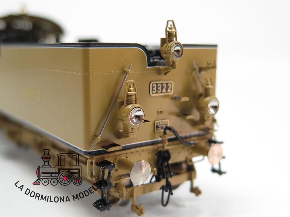 S4 H0 BRASS MICRO-METAKIT 02501H. Schnellzuglokomotive S 3/5N #3322 der K.Bay.Sts.B - OVP