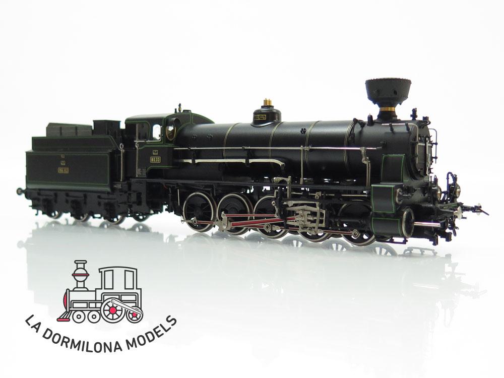 S5 H0 BRASS MICRO-METAKIT 12702H. Schnellzuglokomotive Reihe 80.33 der BBÖ - OVP