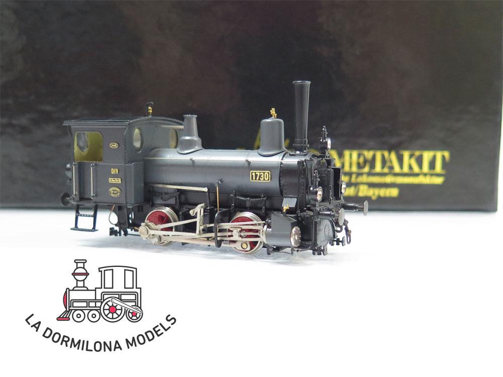 S8 H0 BRASS MICRO-METAKIT 94302H. Rangierlokomotive der Gattung DIV K.Bay.Sts.B - OVP