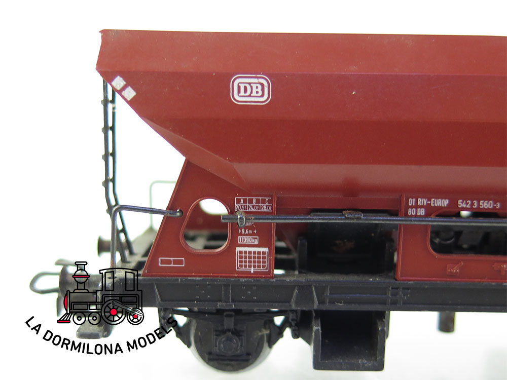 PL340 H0 ~AC MÄRKLIN 4631 VAGÓN TOLVA de la  DB - OVP