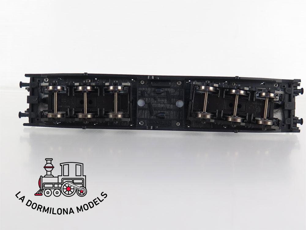 PL347 H0 =DC ROCO 46553 Coiltransportwagen 487 0 290-2 type Sahmms der DB - OVP