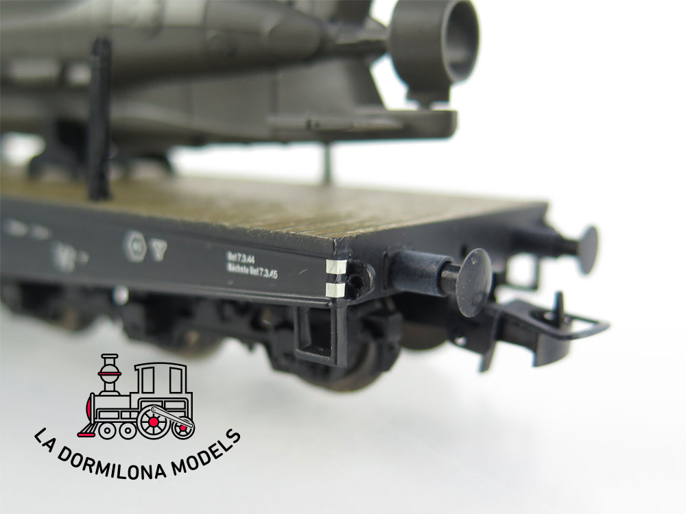 PL350 H0 =DC LILIPUT L240067 Wagen-Set III 2tlg U-Boot-Transport DR Ep.II - OVP