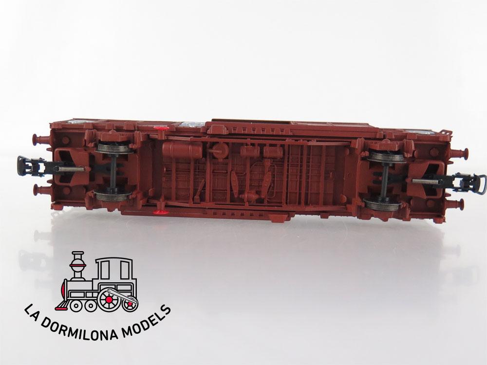 PL354 H0 =DC ELECTROTREN 1459K Vagón cerrado J-1 Tipo Gbrs Ep.4 RENFE - OVP