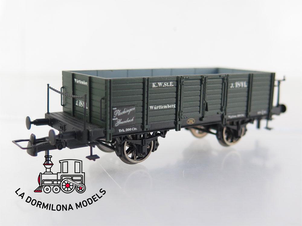 PL357 H0 =DC BRAWA 47708 Güterwagen O K.W.St.E. 1841 Ep.I - OVP