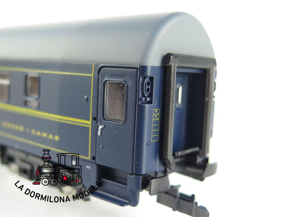 PL368 H0 =DC ROCO 44838 Coche Cama C.I.W.L. 80 454-2  - OVP
