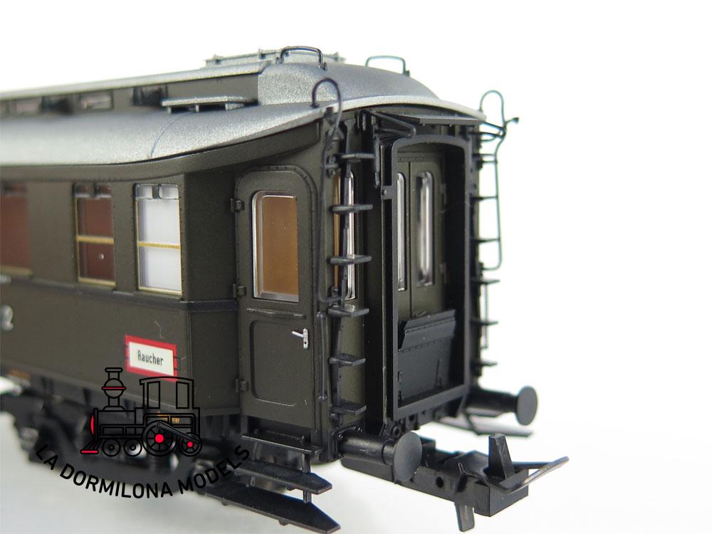 PL370 H0 =DC BRAWA 2441 Preußischer D-Zugwagen B4ü Pr 20a der DRG - OVP