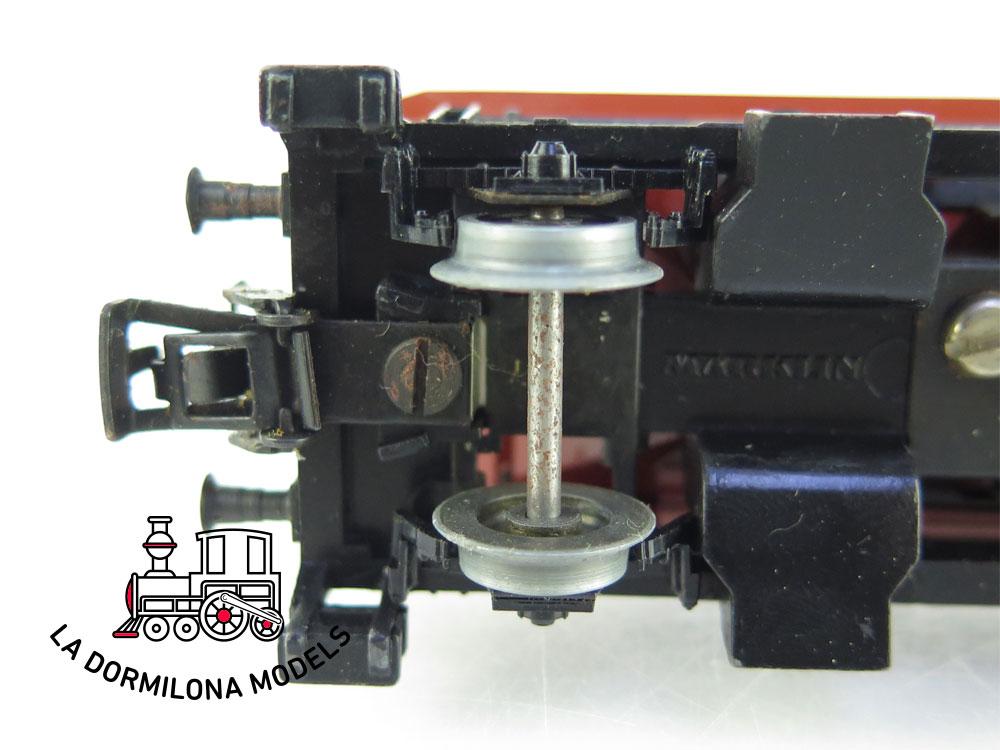PL377 H0 ~AC Märklin CONJUNTO DE 7 VAGONES TOLVA de la DB - S/C