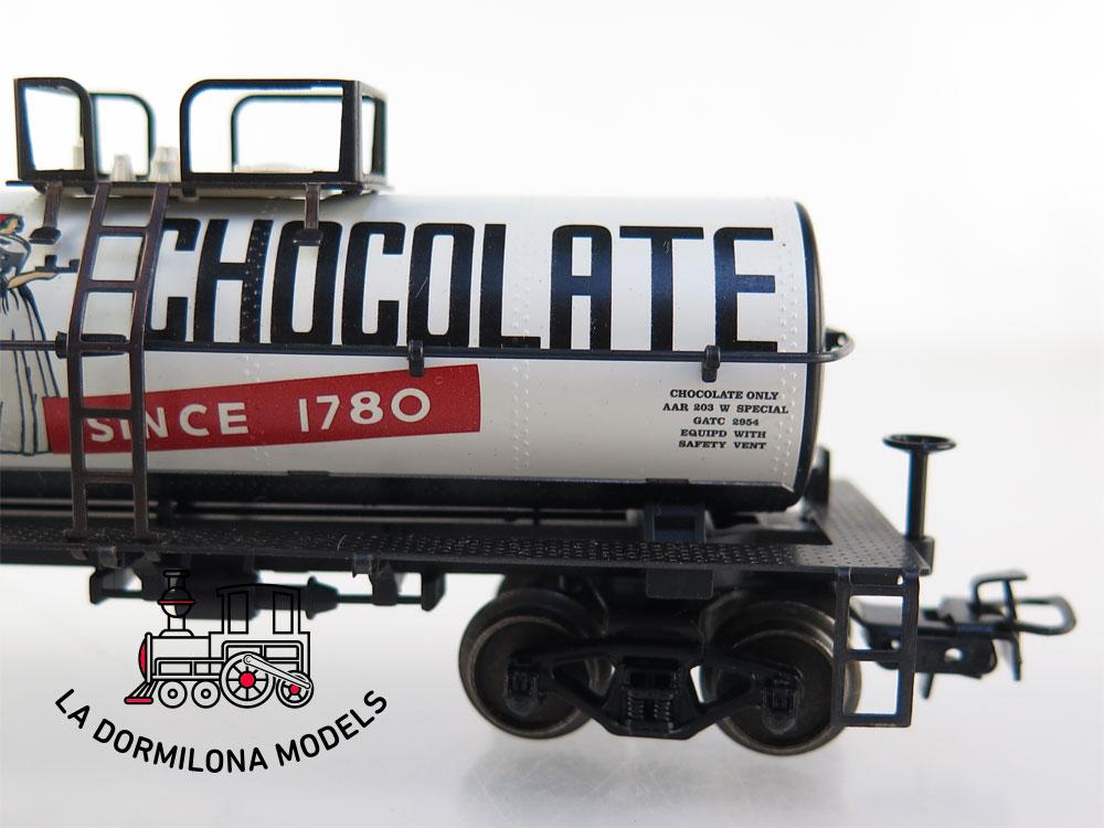 PL379 H0 ~AC MÄRKLIN VAGÓN CISTERNA AMERICANO BAKER'S CHOCOLATE - S/C
